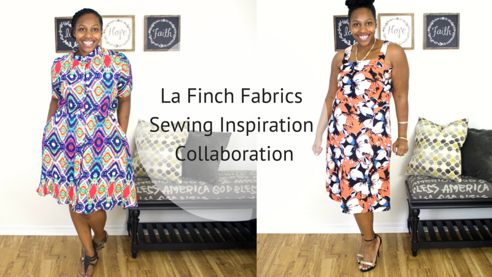 ***The fabric in this post was provided to me by La Finch Fabrics, however this review is my own honest opinion while creating with their fabric.***