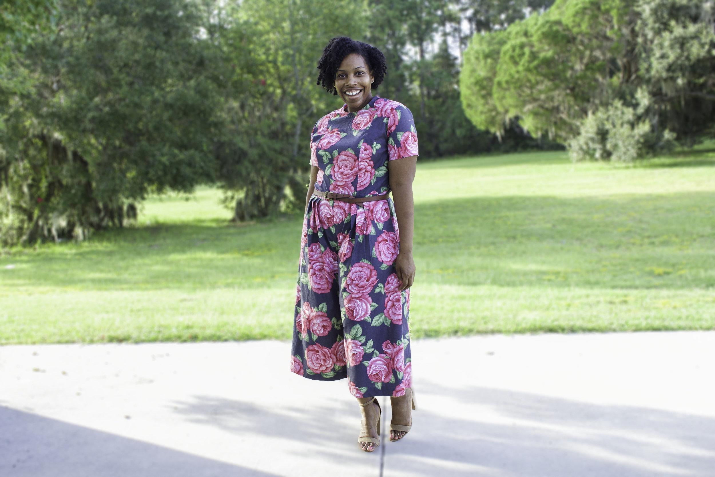 9bbcbf5803f6 Floral Jumpsuit  Vogue 9075 — Brittany J Jones