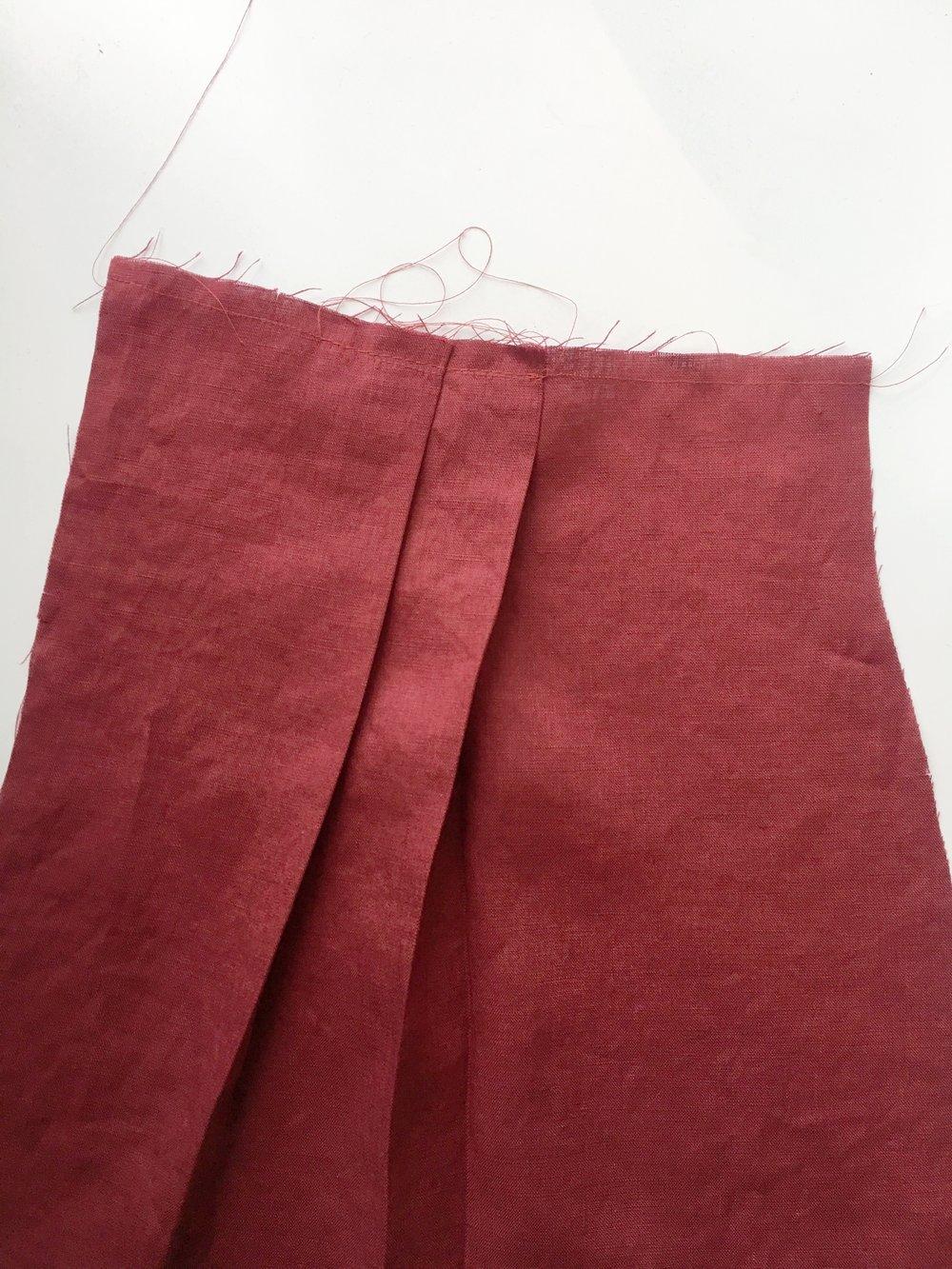 Front Pleats
