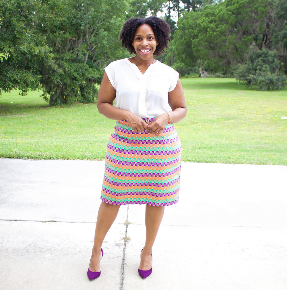 671f101ab Novelty Tweed Pencil Skirt: Butterick 5466 — Brittany J Jones
