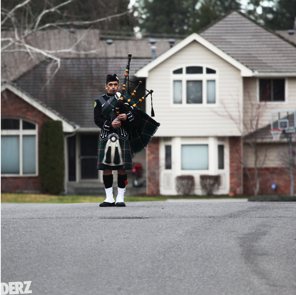 BAG PIPER, Spokane Wa. Dec 2016.