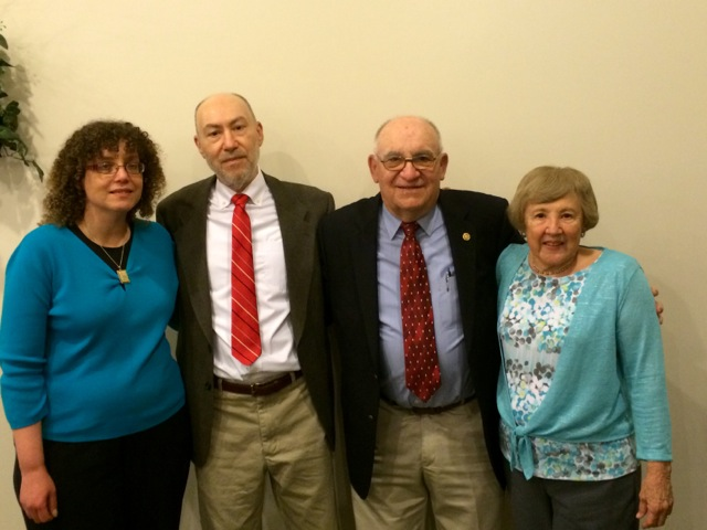 Cy Fritz and family at the PA Sports Hall of Fame Induction Ceremony