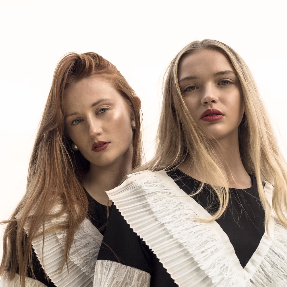 Thomas J Duffield  © 2017     Model's : Chloe (left) and Drew (right) from Industry models.  Styling: Blathnaid Leahy  Makeup: Iram Manahil
