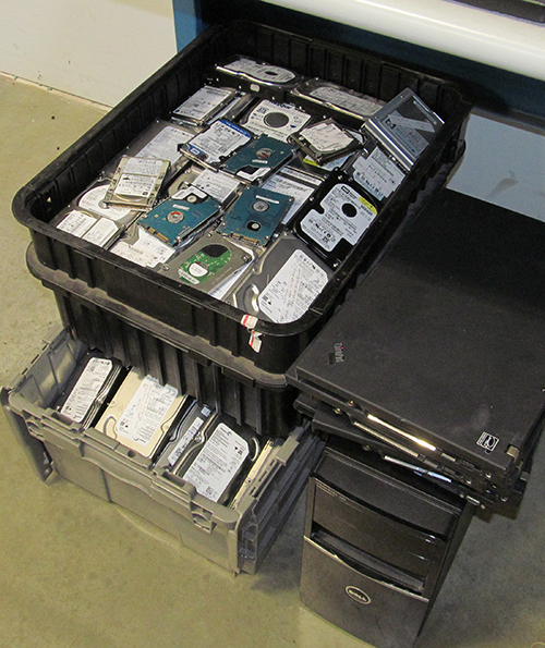 Hard Drives To Be Sanitized