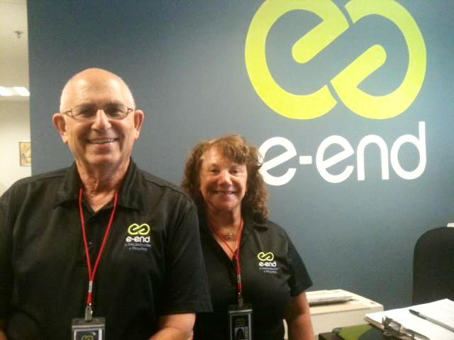 eEnd President Steve Chafitz and Owner/CEO Arleen Chafitz