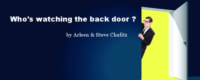 "Read ""Who's watching the back door?"" by Arleen Chafitz, Owner, CEO of e-End and Steve Chafitz, President.  We are proud to be a Certified Woman Owned Small Business."