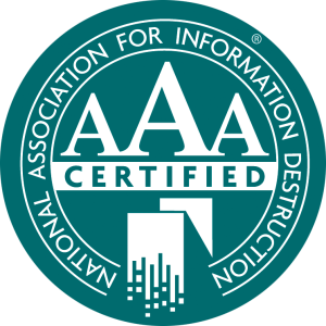the NAID AAA Certification