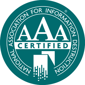 AAA Certified for Data Destruction