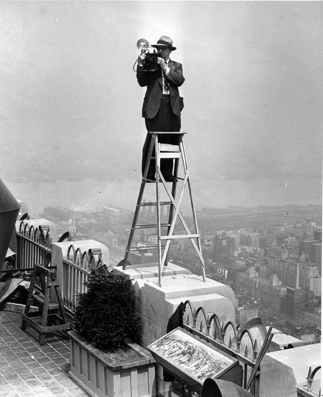 Atop the R.C.A. Building