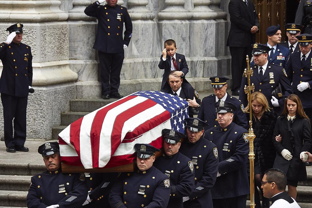 Funeral for Detective Joseph Lemm