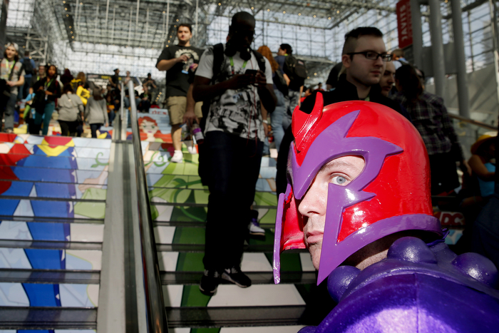 Fans from all around attended the 2nd day of New York Comic-Con 2015 which is being held at the Jacob Javits Center.    Friday October 9, 2015. New York, NY, USA