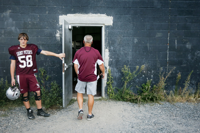Holding Door For Coach - 