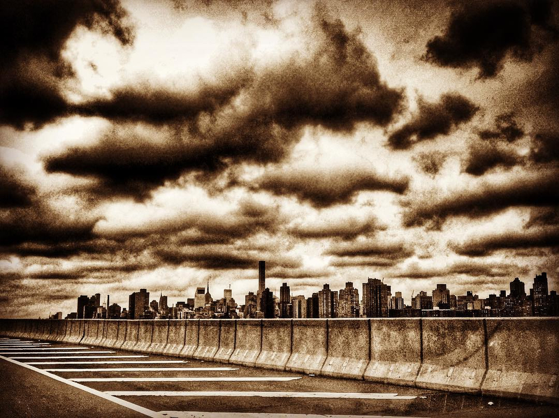 Triboro Bridge Clouds
