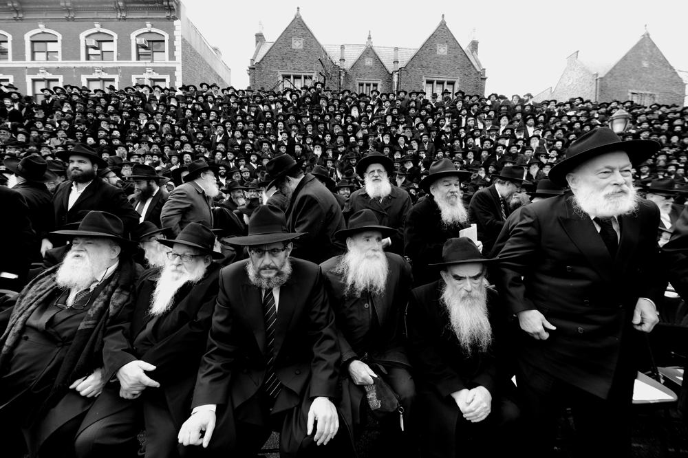 There were more than 5,600 rabbis from throughout the world will gather at the Lubavitcher Headquarters in Crown Heights Brooklyn November 19, 2017