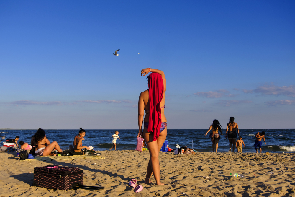 Red Towel -