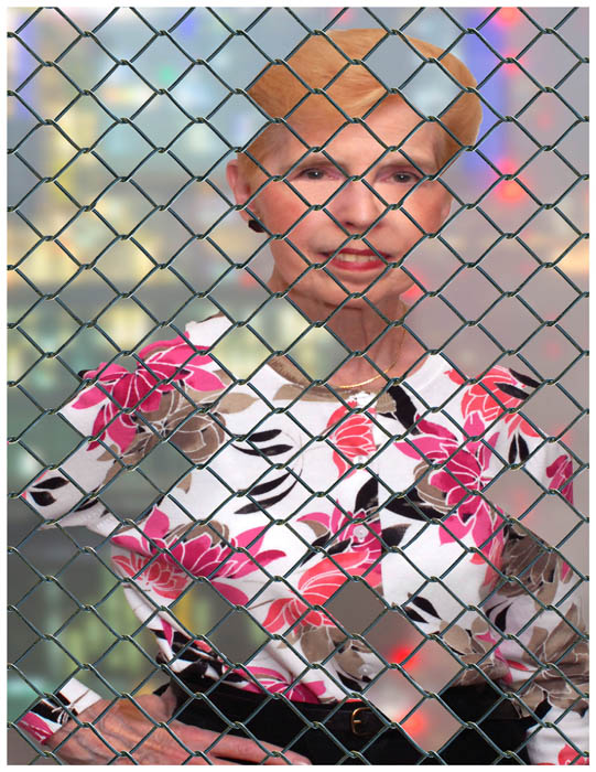 Lady Behind The Fence