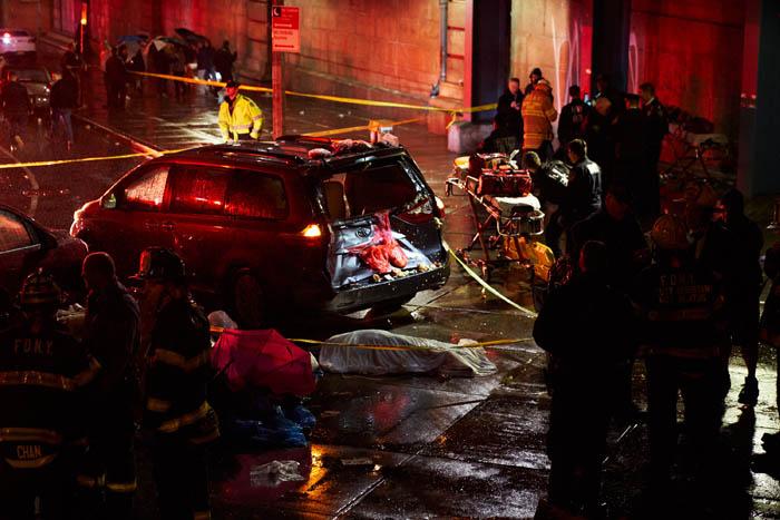 Pedestrians Struck in Lower Manhattan