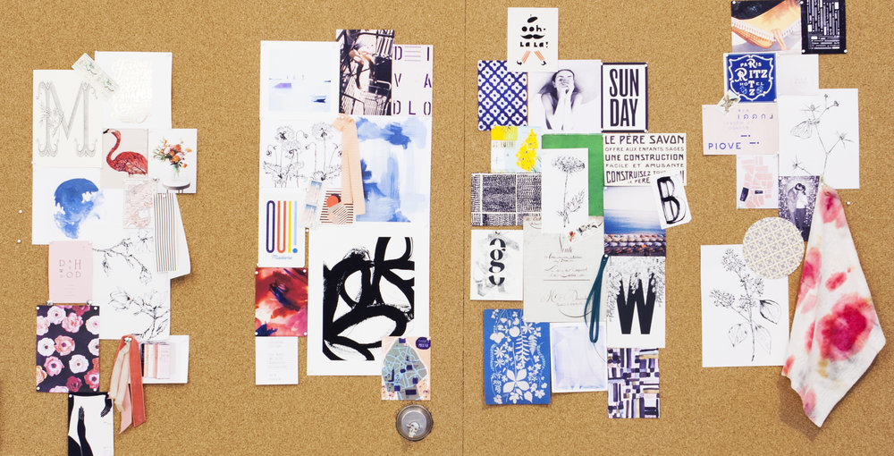 Inspiration & mood boards are the best way to visualize your invitation story.
