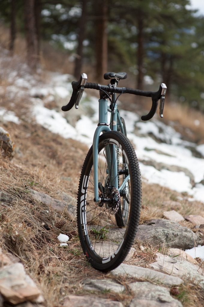 Gravel Traveler - The Gravel Traveler is the most versatile 700c bike I make.  It is everything from your daily driver to your race ready CX bike.  If your are looking for a quiver killer for you 700c setups, this is your jam.  The chainstays are not too long, not to short.  The reach and stack has a similar feel to a road geometry, but the front end is all business and can cover whatever you throw at it.  It personally has become the bike I grab for most occasions.There are tons of options to trick this sweet whip out, I am happy to chat about all and any you can think of.