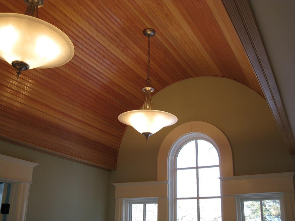 Projects acorn custom builders inc for Barrel vault ceiling