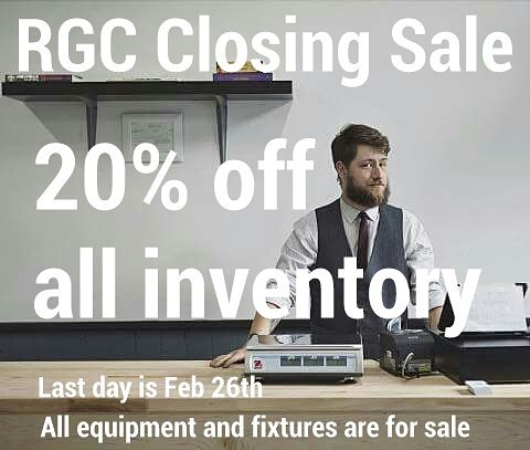 The RGC  will be closing its doors after 4 years. It has been an honor and a pleasure to serve Clifton and the city of Louisville. Thank you to everyone for your support.