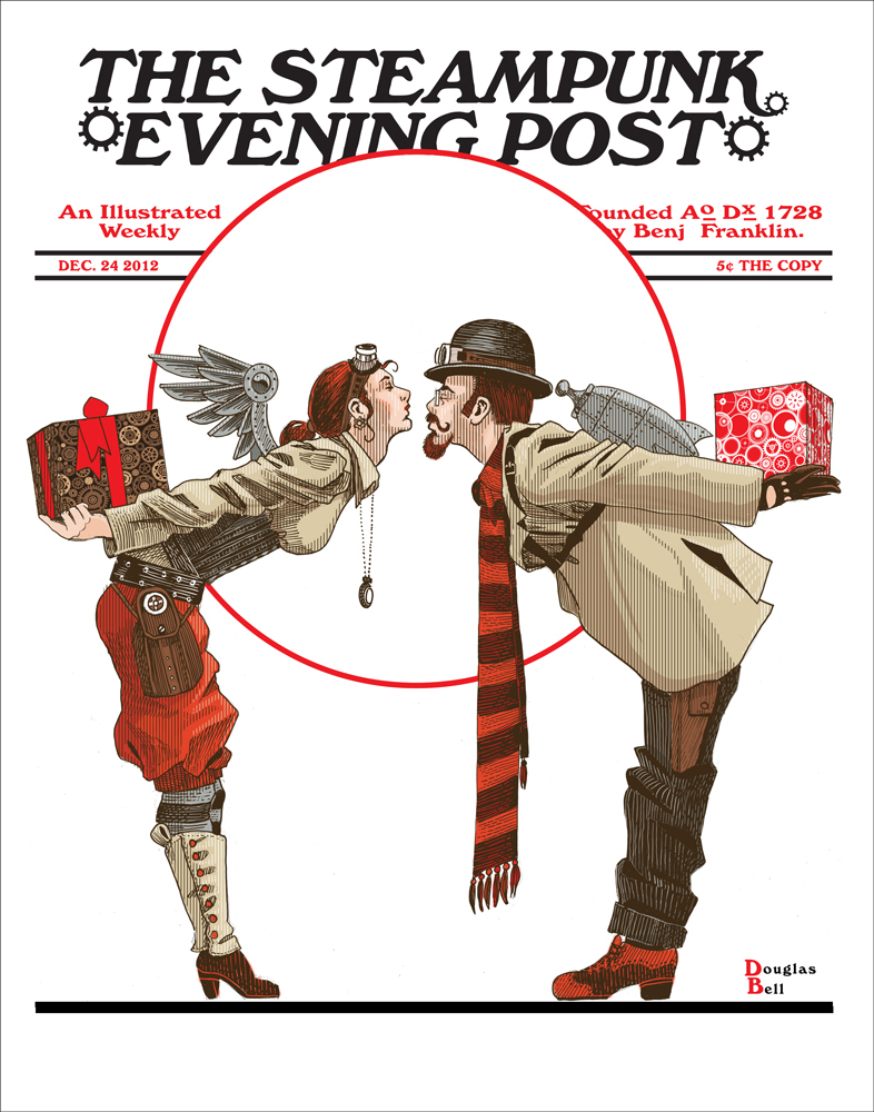 Steampunk Evening Post
