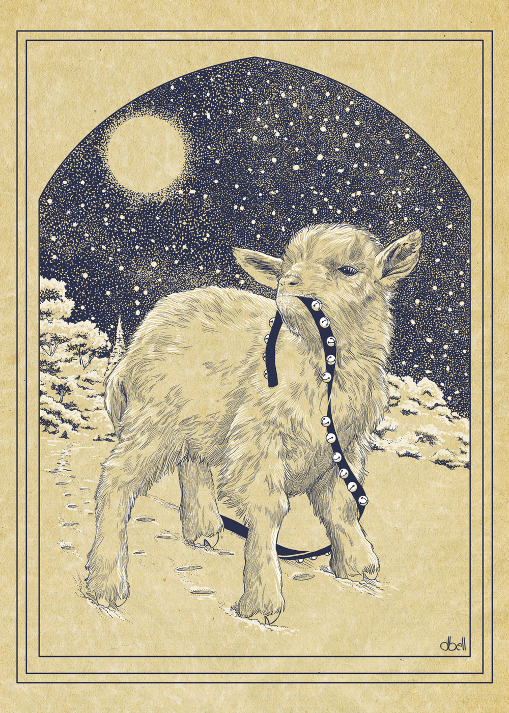 Niblit, the Christmas Goat