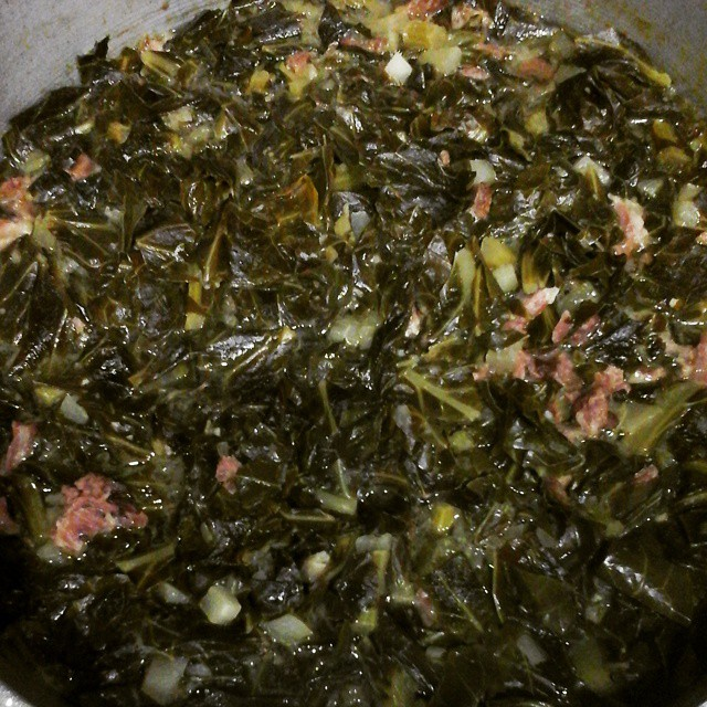 Fredh batch of collards