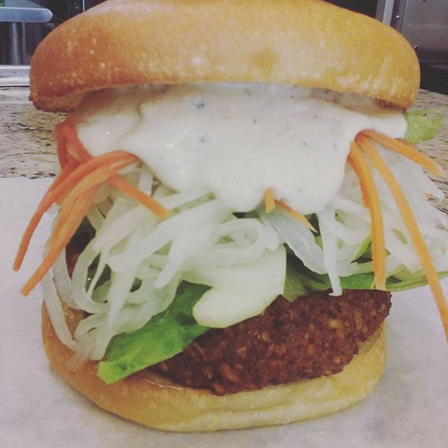 New vegetables burger coming!