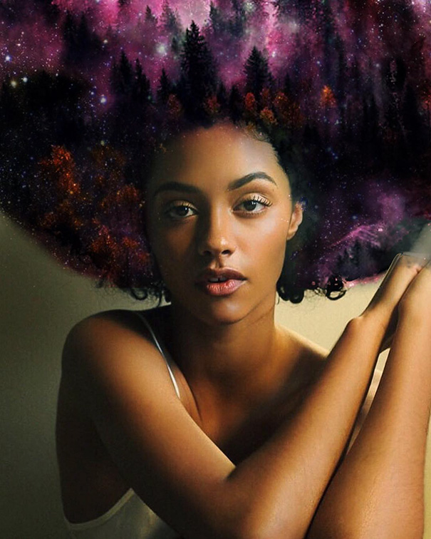 The Black Woman Is God Presents Anatomy Of The Curl The Mother Of