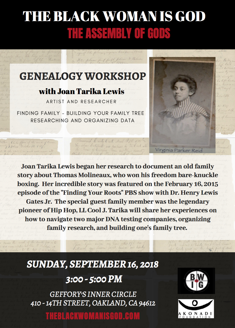 TBWIG_ Genealogy Workshop Flyer_Revised (1).jpg