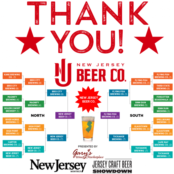 NJ Monthly Thank You
