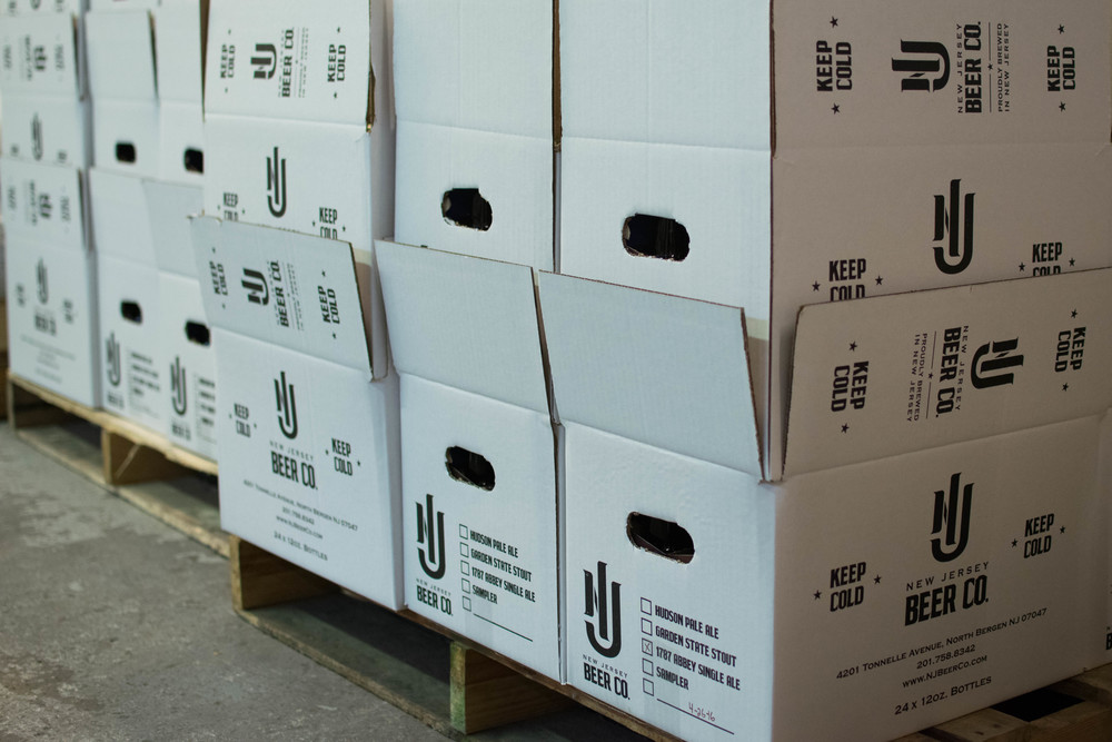 Boxes of Beer