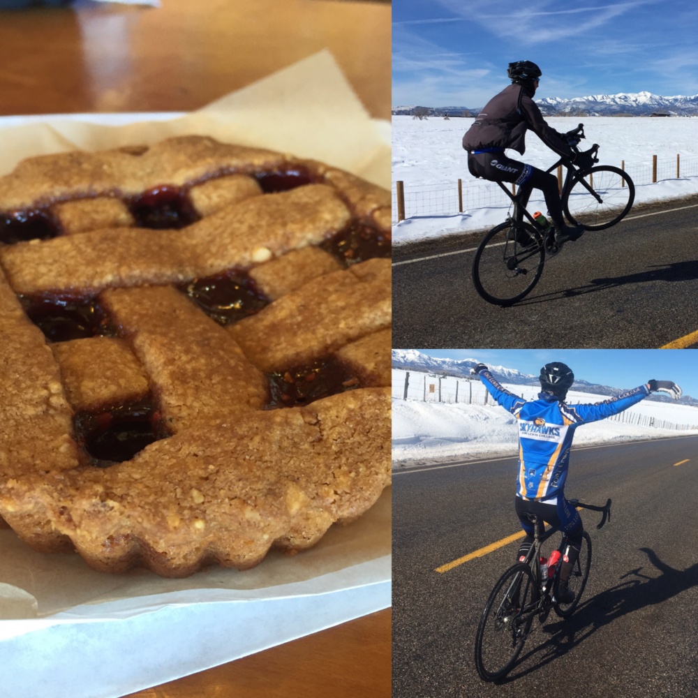Mini-Pies, wheelies, and flying kept us rolling on the icy roads.