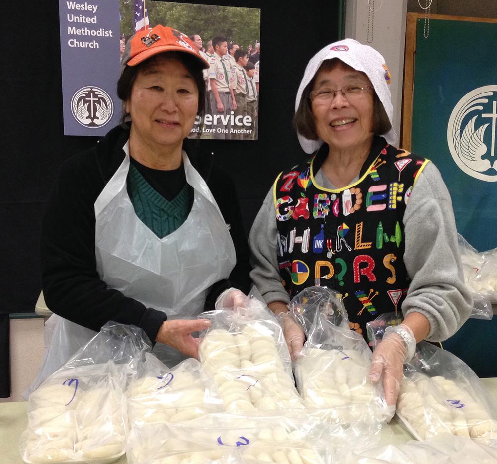 Marian Suhama & Sharon Uyeda.