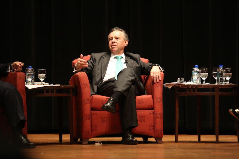 H.E. Eduardo Medina Mora-Icasa, Ambassador of Mexico