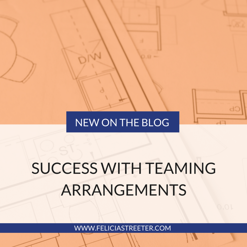 Success With Teaming Arrangements