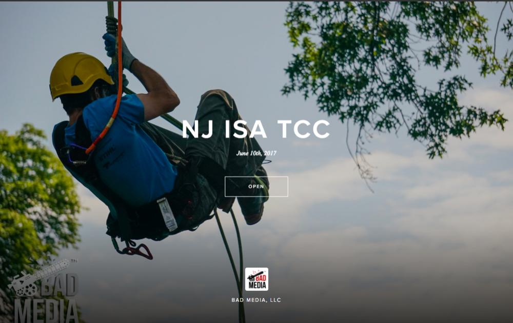 NJ ISA Tree Climbing Championshio - June 10, 2017