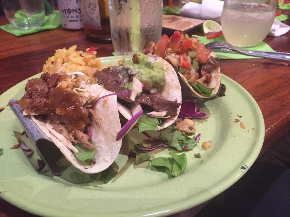 Tacos at the Rum House