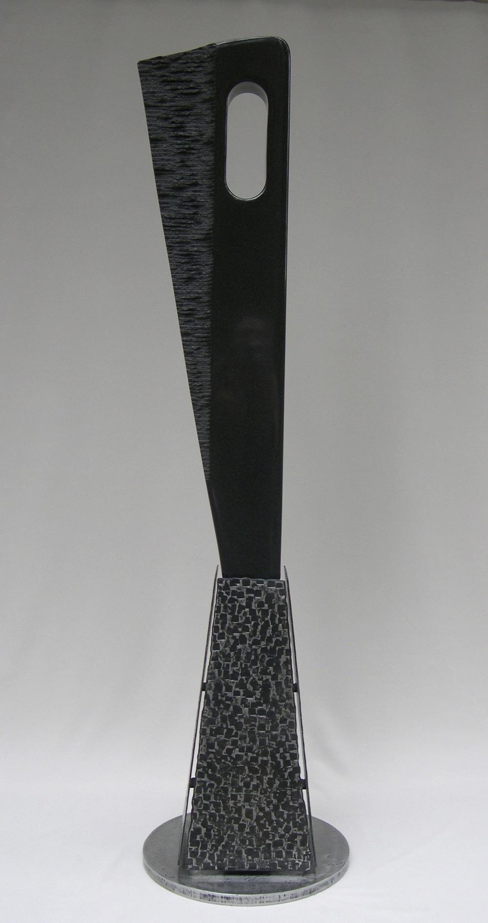RAVEN  Granite & Metal / 69″ x 13″ x 6″