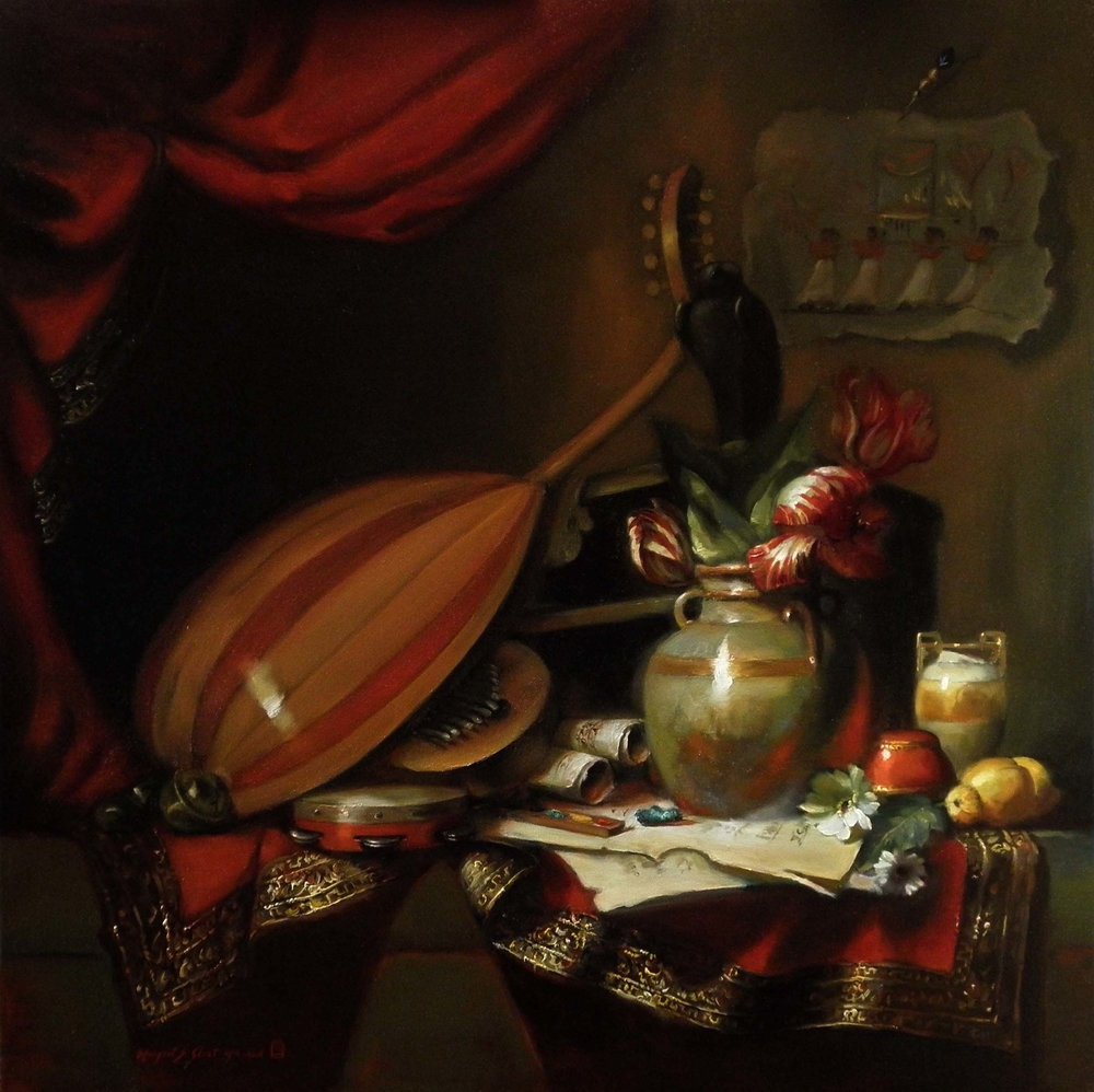 FESTIVAL OF OPET   30″ x 30″ / Oil On Linen