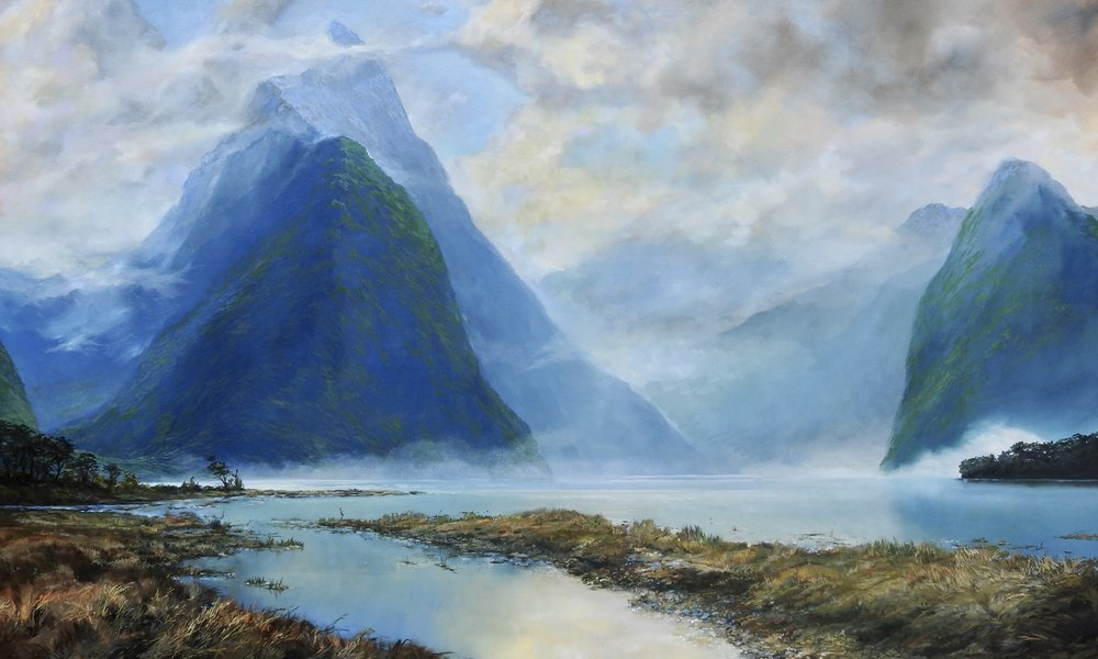 FJORD DREAM  36″ X 60″ / Oil