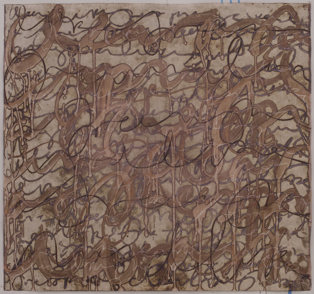 Asemic, walnut