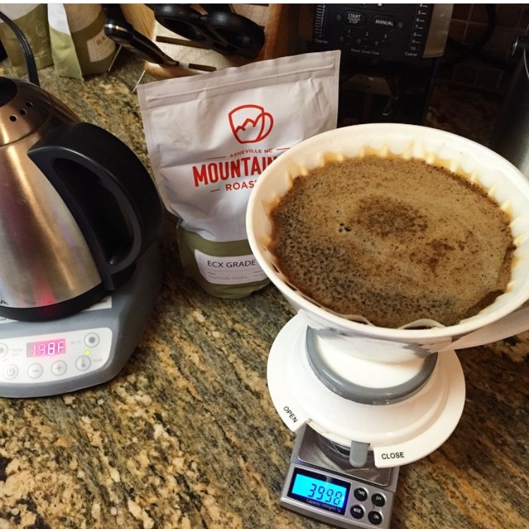 Mountain Air's coffees are good brewed and as espresso.