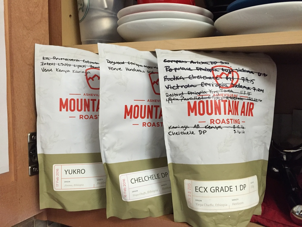 The bags from Mountain Air make for great reusable storage with zip lock tops and one way valves.