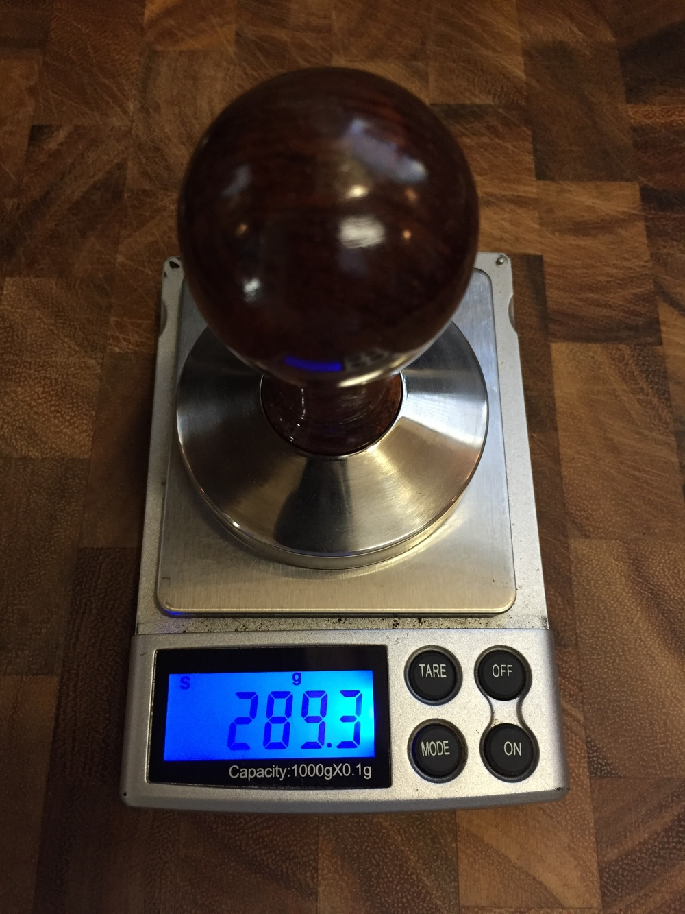 Rosewood Tamper weight.JPG