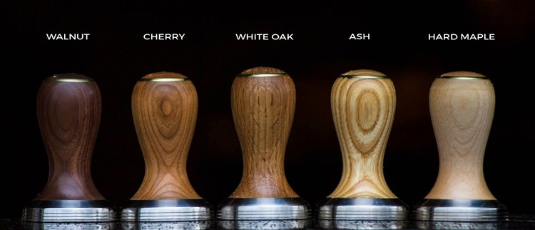 Beautiful wood options from Saint Anthony Industries. Photo courtesy of SAI, click through for more info & ordering
