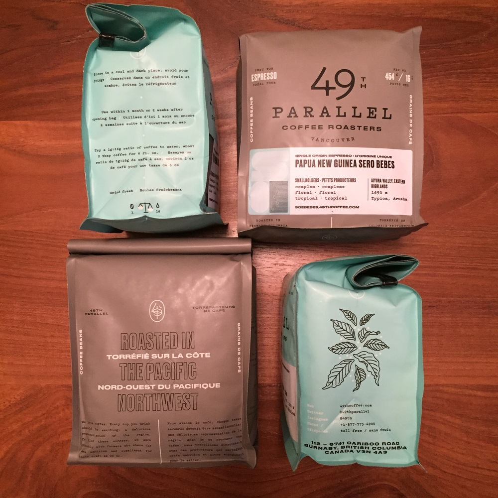 49th's awesome packaging - plenty of info, plenty of design, plenty awesome.