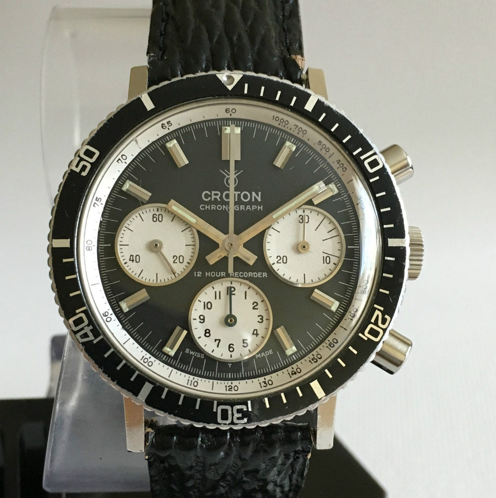 Croton V72 Chronograph, link from auction, click through for details.