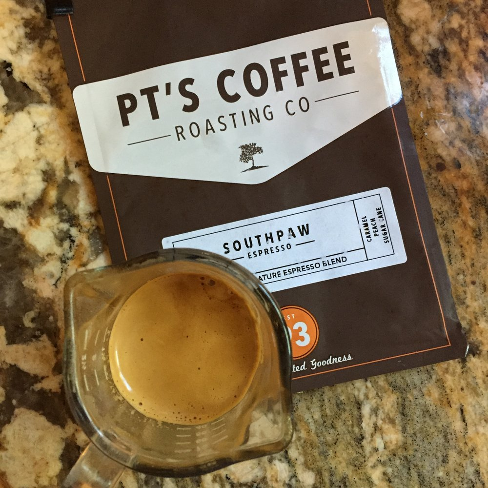 PT's Southpaw Espresso